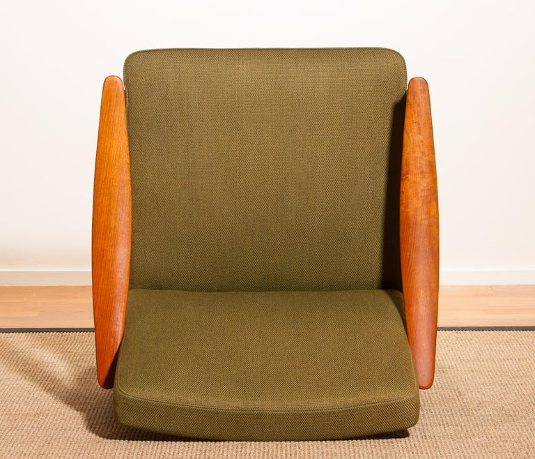 1960s, Teak Lounge Chair by Erik Wørts for Bröderna Andersson In Excellent Condition For Sale In Silvolde, Gelderland