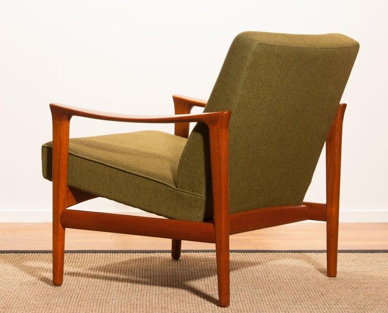 1960s, Teak Lounge Chair by Erik Wørts for Bröderna Andersson For Sale 1