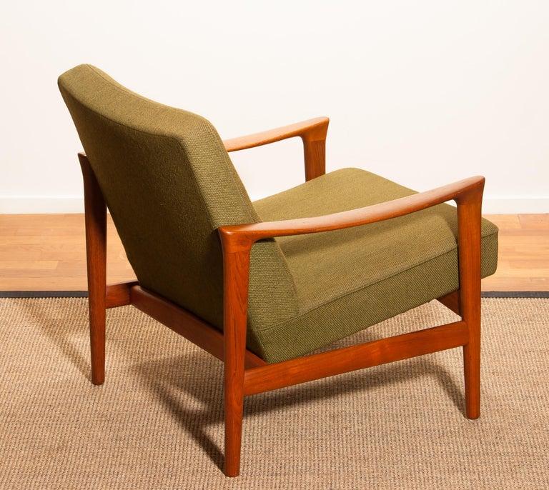 1960s, Teak Lounge Chair by Erik Wørts for Bröderna Andersson For Sale 2
