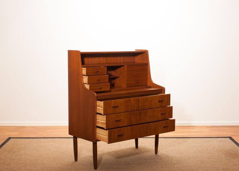 Danish 1950s, Teak Secretaire or Dressing Table in Style of Peter Hvind For Sale