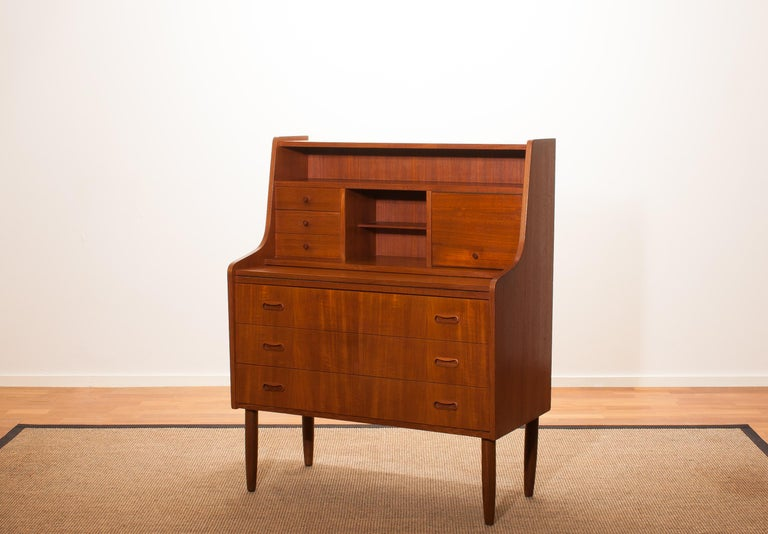 Mid-20th Century 1950s, Teak Secretaire or Dressing Table in Style of Peter Hvind For Sale