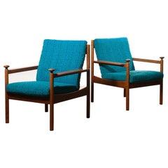 1950s, a Pair of Chairs by Torbjørn Afdal for Sandvik & Co. Mobler
