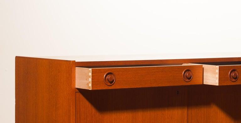 Swedish 1950s, Teak Sideboard by Brexo Möbler, Sweden For Sale