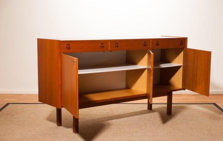 1950s, Teak Sideboard by Brexo Möbler, Sweden For Sale 1