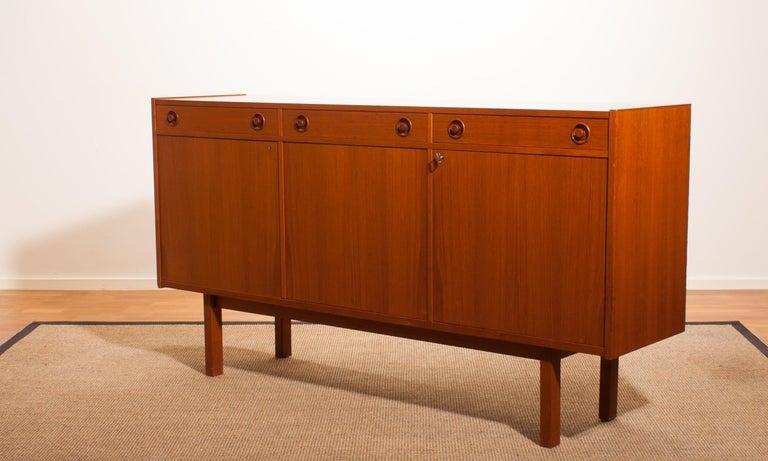 1950s, Teak Sideboard by Brexo Möbler, Sweden For Sale 2
