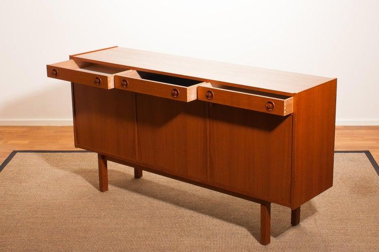 1950s, Teak Sideboard by Brexo Möbler, Sweden For Sale 3