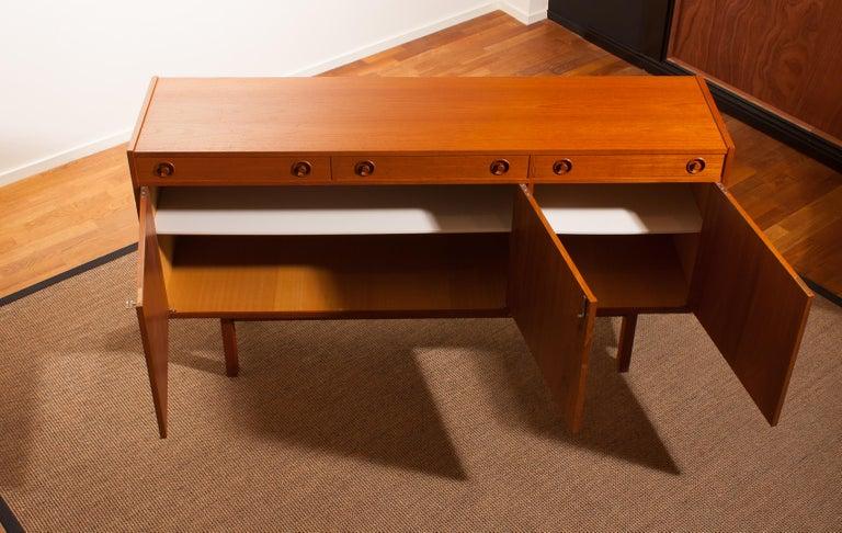 1950s, Teak Sideboard by Brexo Möbler, Sweden For Sale 5