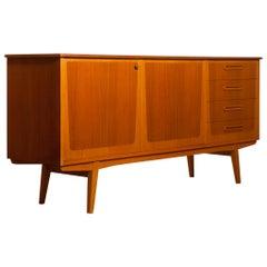 1960s, Teak and Oak Sideboard