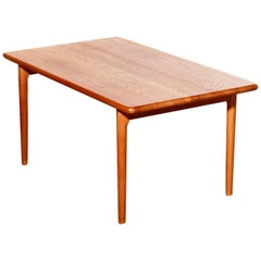 1954 Oak Dining Table by Niels Otto Møller for JL Møller Møbelfabrik