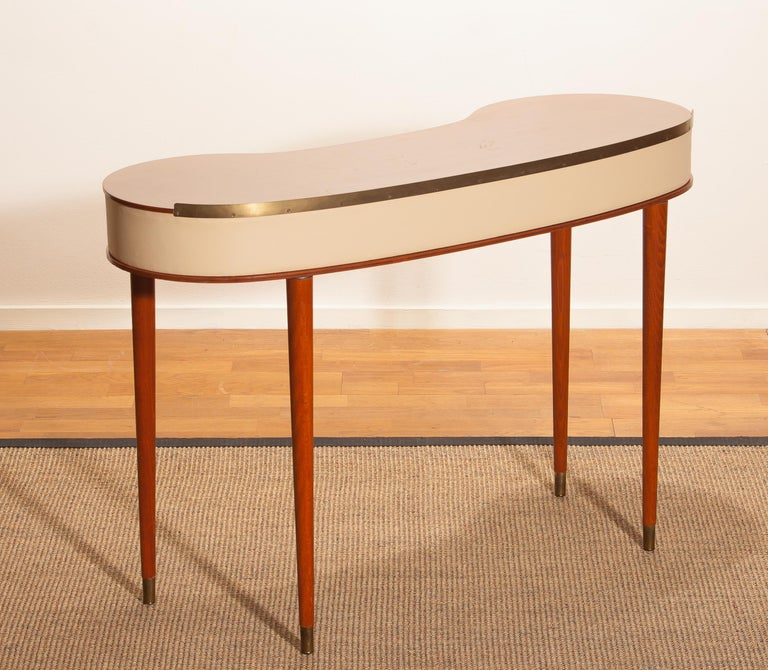Mahogany Vanity or Dressing Table by Halvdan Pettersson for Tibro, Sweden, 1950s For Sale 2