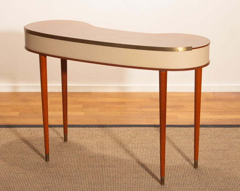 Mahogany Vanity or Dressing Table by Halvdan Pettersson for Tibro, Sweden, 1950s For Sale 3