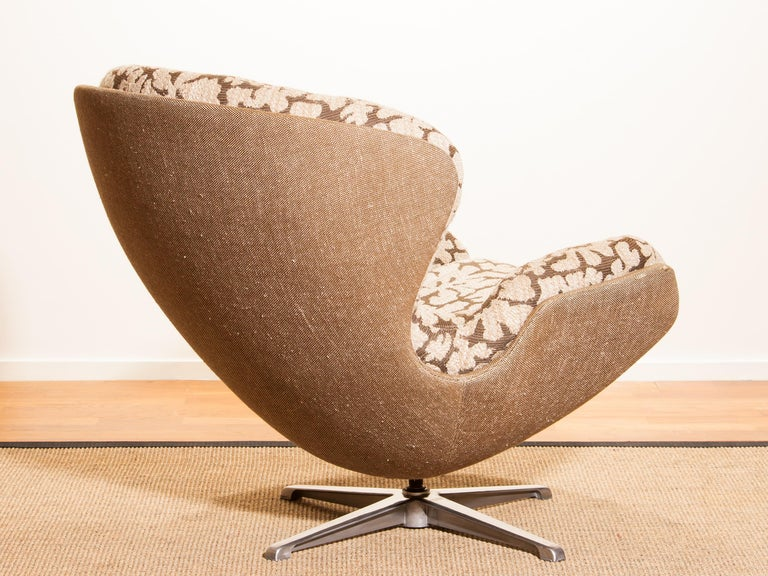 Swivel Lounge Chair 'Partner' by Lennart Bender for Ulferts, 1970s In Good Condition For Sale In Silvolde, Gelderland