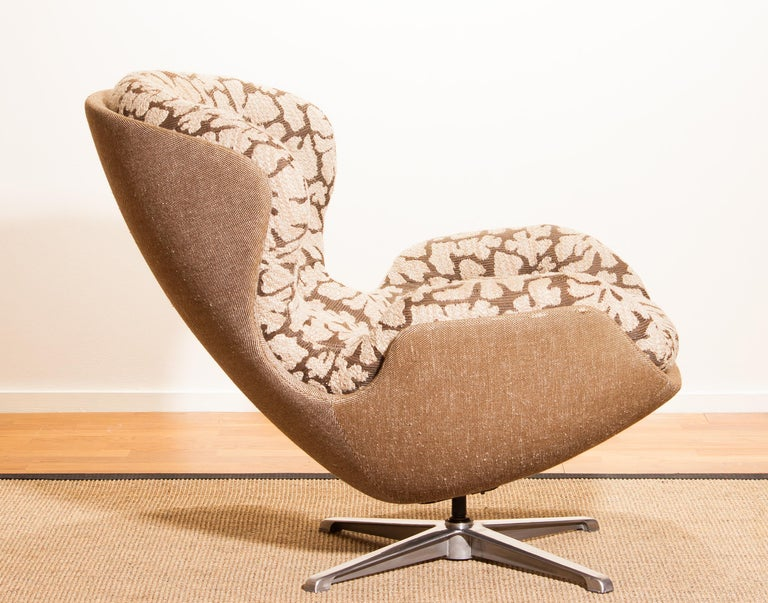 Mid-20th Century Swivel Lounge Chair 'Partner' by Lennart Bender for Ulferts, 1970s For Sale