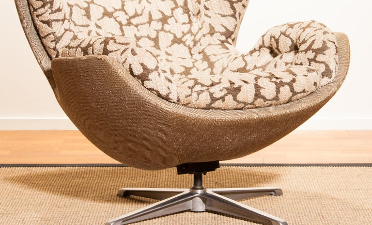 Swivel Lounge Chair 'Partner' by Lennart Bender for Ulferts, 1970s For Sale 2