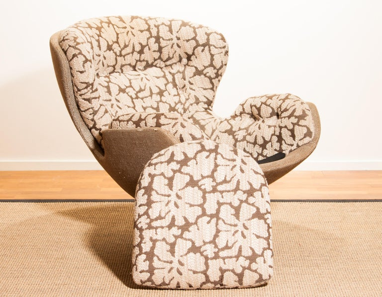 Swivel Lounge Chair 'Partner' by Lennart Bender for Ulferts, 1970s For Sale 8