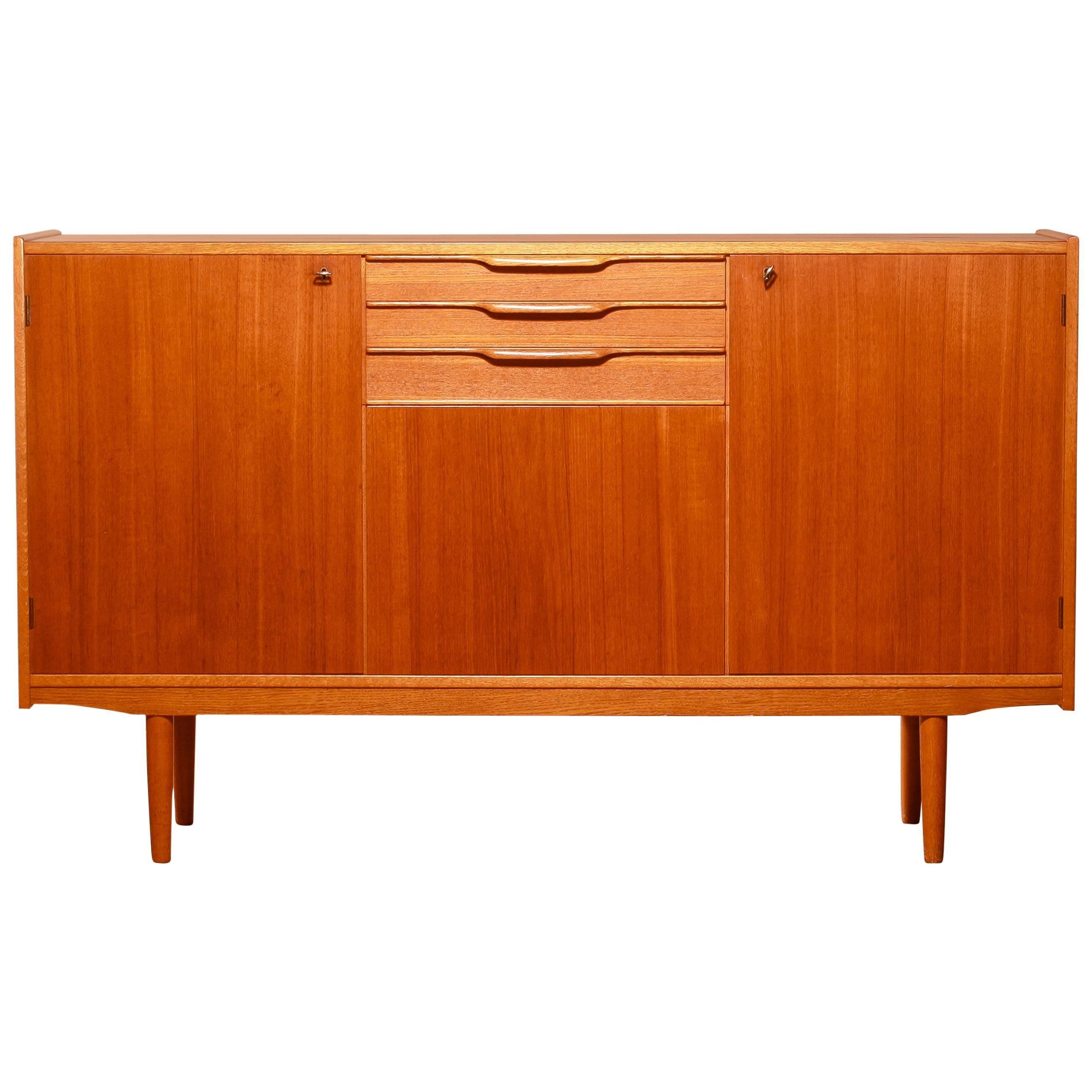 1950s, Teak Sideboard by Bertil Fridhagen for Bodafors For Sale at ...