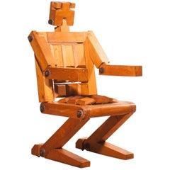 1970s, Pinewood Robot Chair