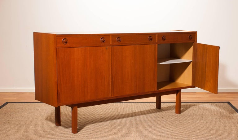 Mid-20th Century 1950s, Teak Sideboard by Brexo Möbler For Sale