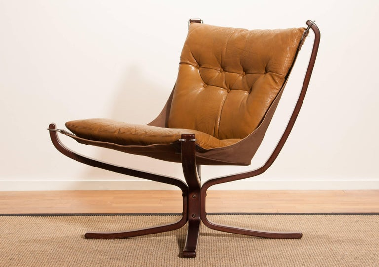 Wonderful armchair designed by Sigurd Ressell Norway.