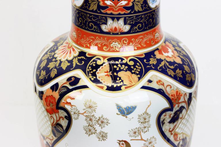 Pair of Huge Yokohama Porcelain Vases Design Füllman, AK Kaiser, Germany, 1970s 1