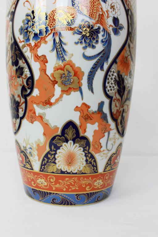 Pair of Huge Yokohama Porcelain Vases Design Füllman, AK Kaiser, Germany, 1970s 3