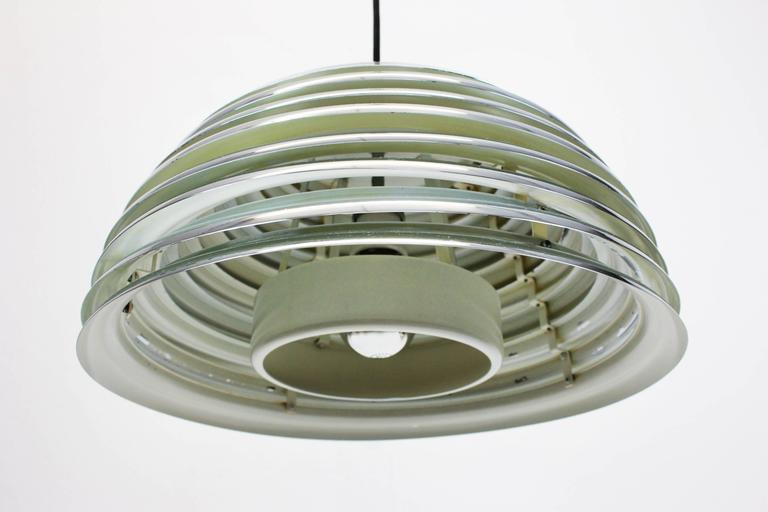 Mid-Century Modern Saturno Pendant Light by Kazuo Motozawa, Germany, 1970s For Sale