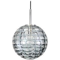 Rare Murano Ball Pendant Light by Doria, Germany, 1970s