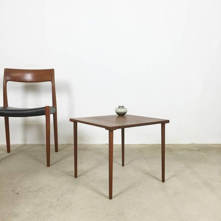 Scandinavian Modern 1960s Teak Side Table by Peter Hvidt & Orla Molgaard for France & Son Daverkosen For Sale