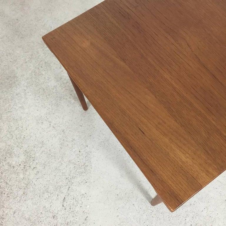 1960s Teak Side Table by Peter Hvidt & Orla Molgaard for France & Son Daverkosen In Good Condition For Sale In Kirchlengern, DE