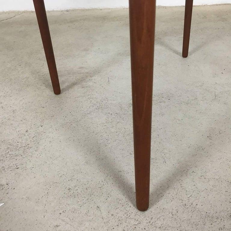 Wood 1960s Teak Side Table by Peter Hvidt & Orla Molgaard for France & Son Daverkosen For Sale
