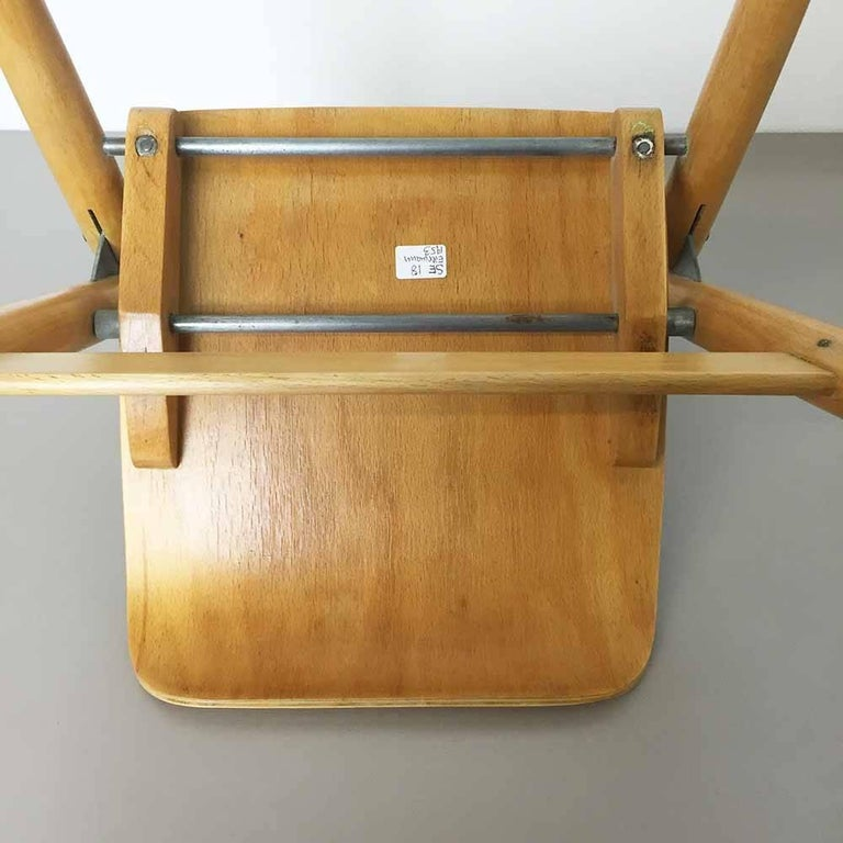 Wooden SE18 Children's Chair by Egon Eiermann for Wilde & Spieth, Germany 1950s For Sale 5