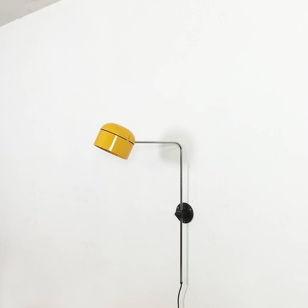 Wall Lights Made In Germany : Original German Space Age Yellow Wall Light Made by Staff, Germany For Sale at 1stdibs
