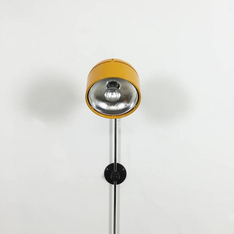 Original German Space Age Yellow Wall Light Made by Staff, Germany at 1stdibs
