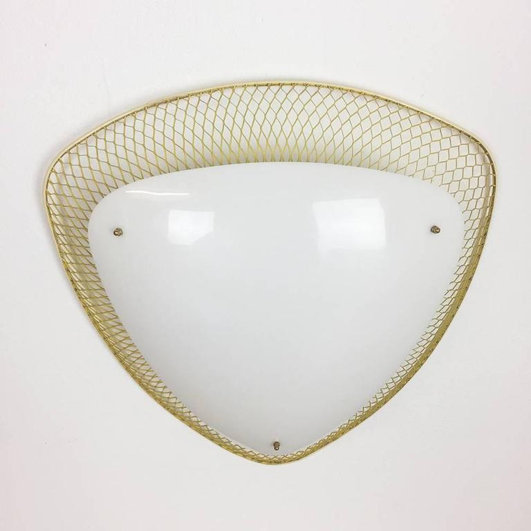 Wall Lights Made In Germany : XXL Original 1950s Modernist Wall Sconces Light Made in Germany For Sale at 1stdibs