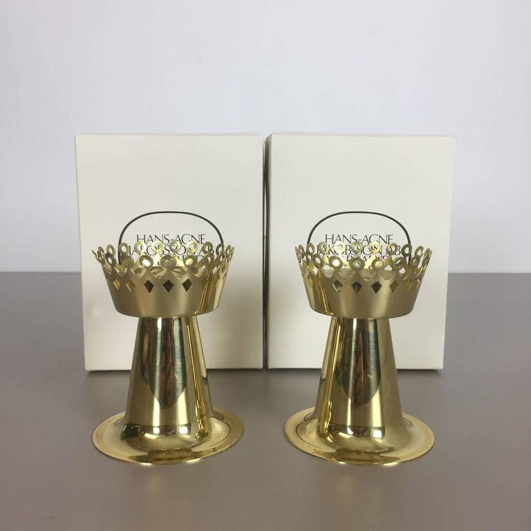 Brass candleholder