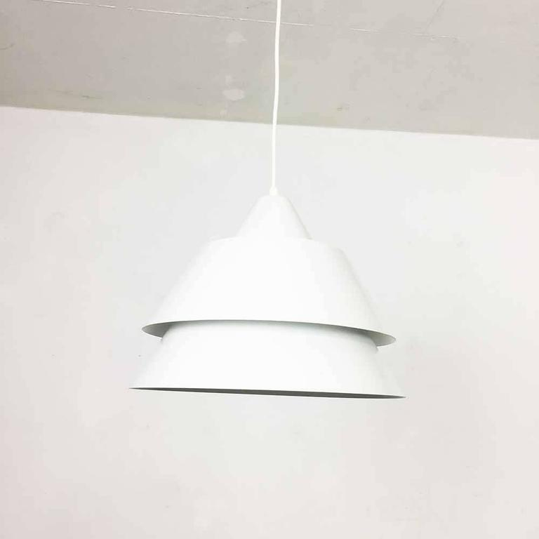 Modernist Vintage Zone Pendant Light By Jo Hammerborg For