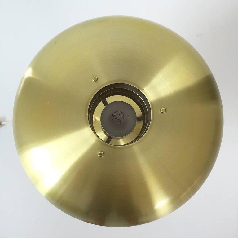 Mid-Century Modern Original 1960s Brass Desktop Light by Hans-Agne Jakobsson, Markaryd, Sweden