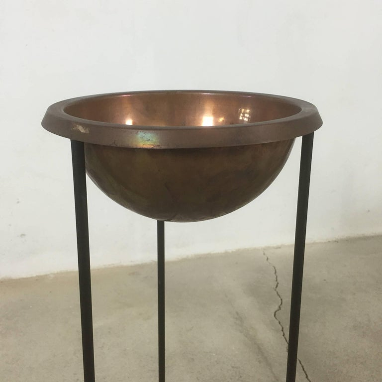 Metal Swedish Ashtray Stand by Hans-Agne Jakobsson for Hans-Agne Jakobsson AB Markaryd