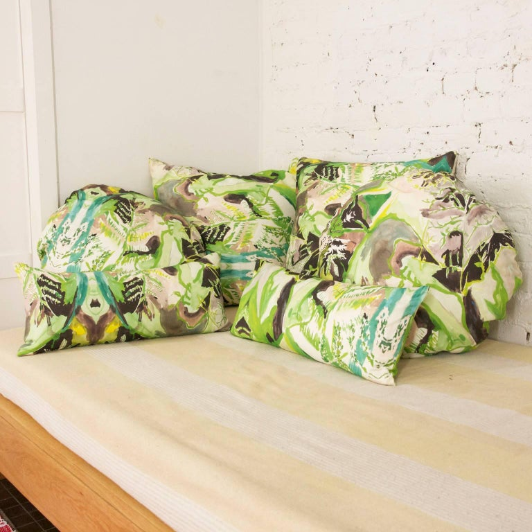 Square Fern Pillow In New Condition For Sale In Brooklyn, NY