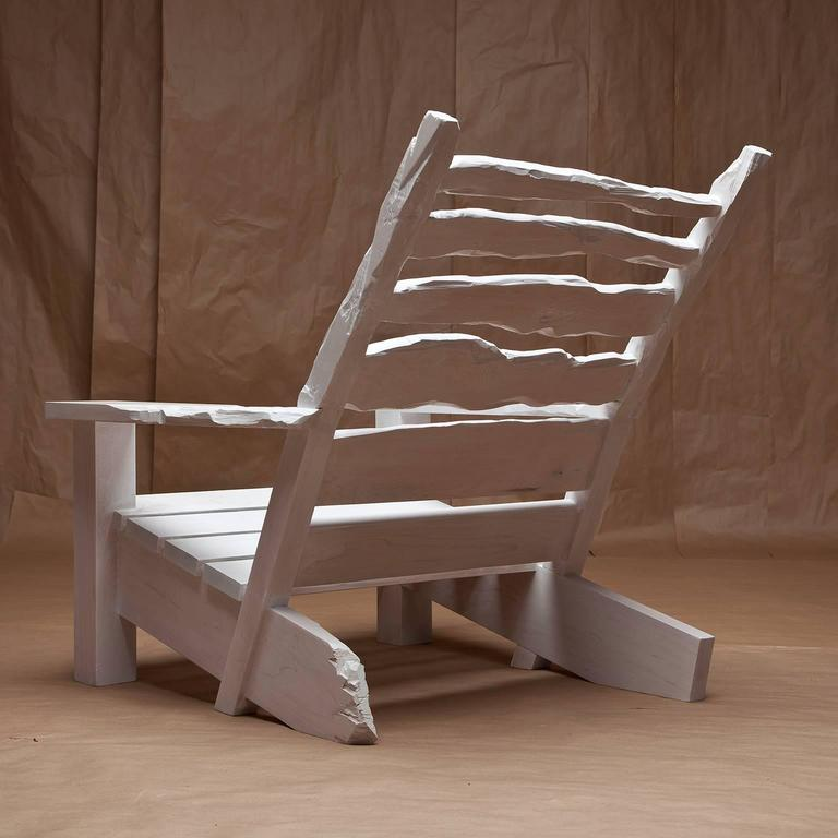 Other White Washed Maple Sunday Chair For Sale