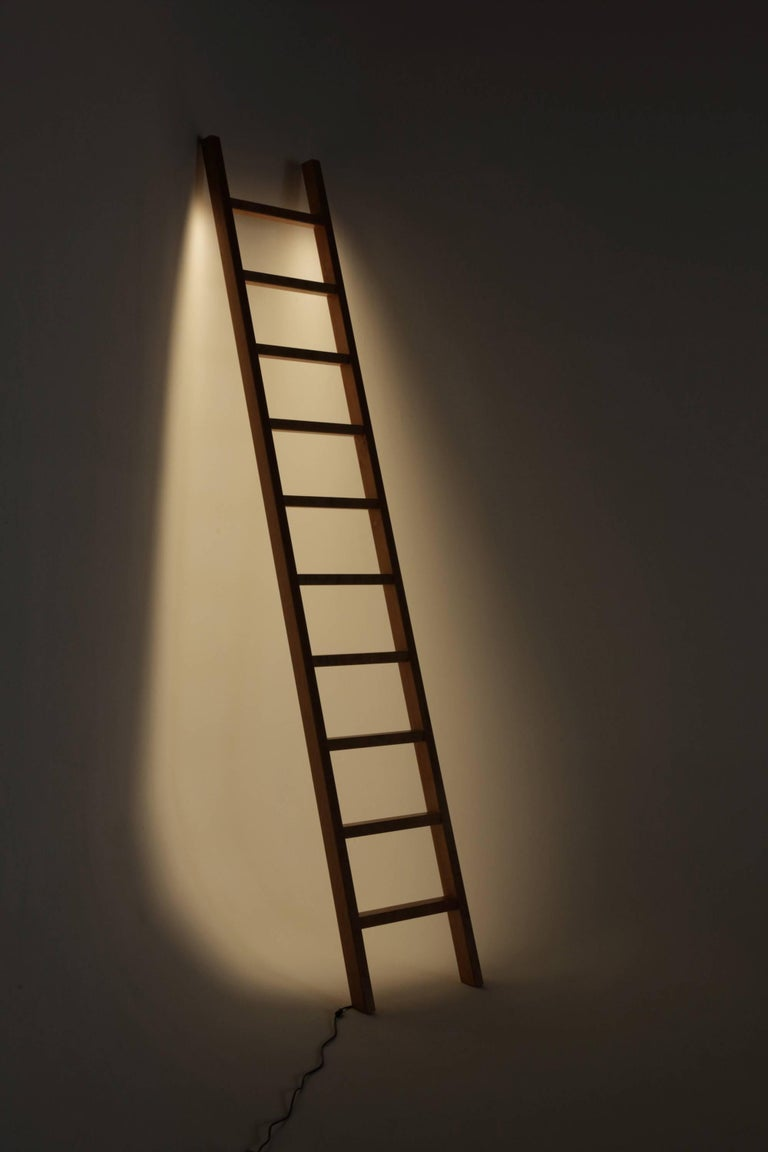 Ladder LED Line Light Sculpture In New Condition For Sale In Brooklyn, NY