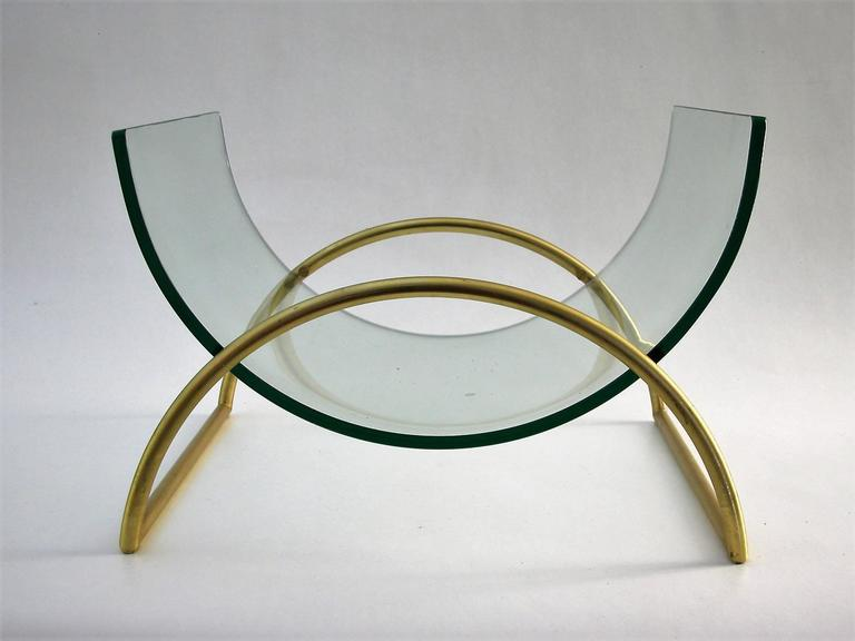 Magazine Rack Holder by Fontana Arte, circa 1960s 3