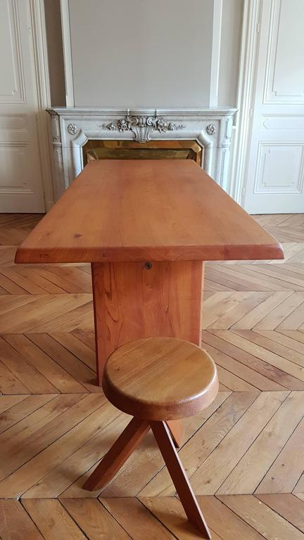 Table T 14 D Pierre Chapo, 1968 in French Elm In Excellent Condition For Sale In Lyon, FR
