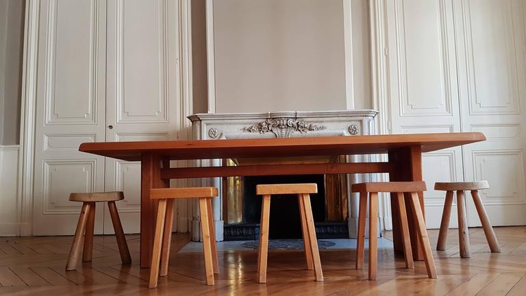 Table T 14 D Pierre Chapo, 1968 in French Elm For Sale 3