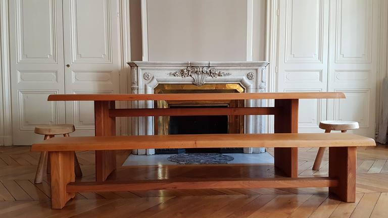 Table T 14 D Pierre Chapo, 1968 in French Elm For Sale 1