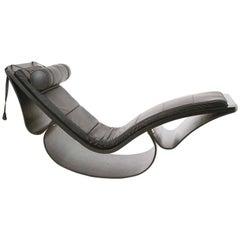 "Oscar Niemeyer ""Rio"" Chaise Longue, Produzione Fasem, Italy"
