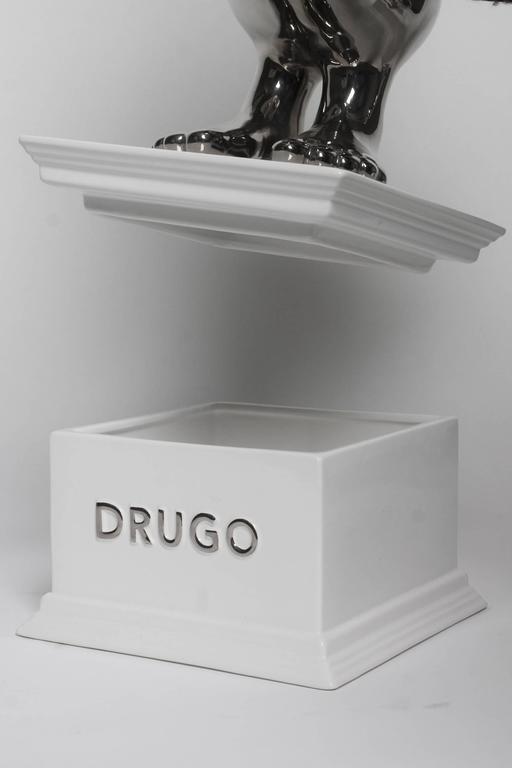 Italian Matteo Cibic Drugo Ceramic Sculpture Superego Editions, Italy For Sale