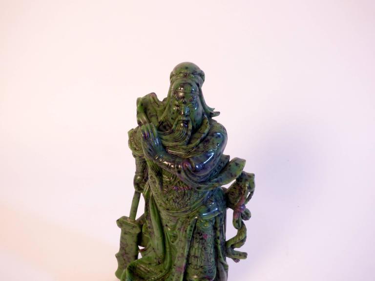 Beautiful Zoisite Sculpture For Sale 1