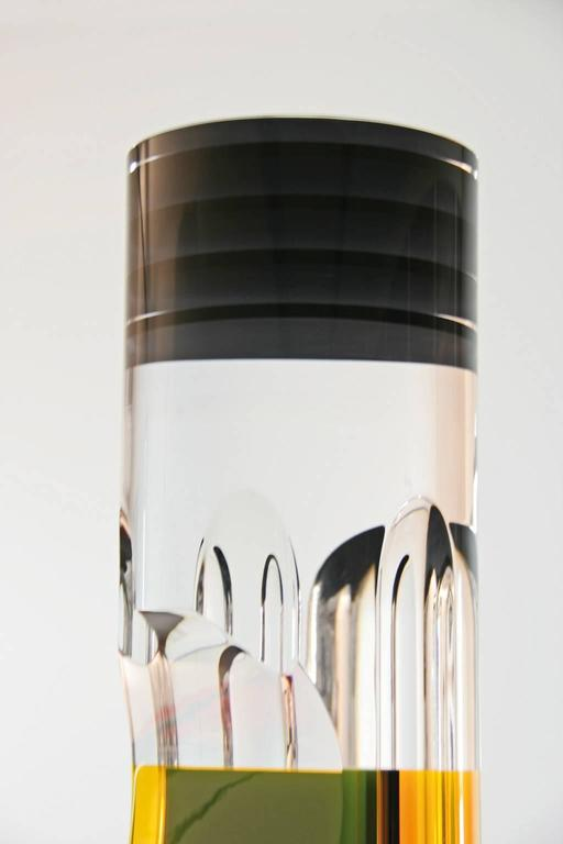 Italian Marco Pettinari, Plexiglass Sculpture 'Manzoni's Pencil', Italy, 2011 For Sale
