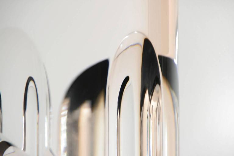 Marco Pettinari, Plexiglass Sculpture 'Manzoni's Pencil', Italy, 2011 In Excellent Condition For Sale In Milan, Italy